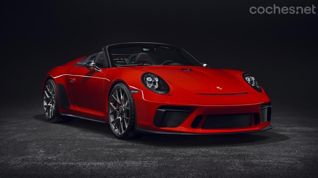 d011664bc2d01 Porsche 911 Speedster concept  Llegará a mediados de 2019   Noticias ...
