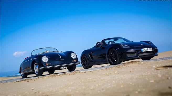 Porsche Boxster Spyder vs Porsche 356