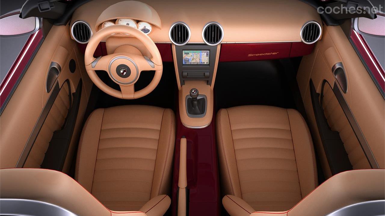Stärke Speedster, un Boxster estilo 356