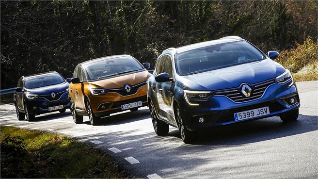 ¿Familiar, Monovolumen o SUV? Resolvemos la duda con tres Renault