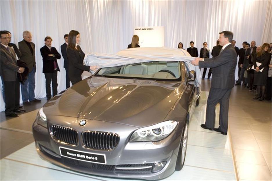 BMW presenta el nuevo Serie 5 entre obras de arte
