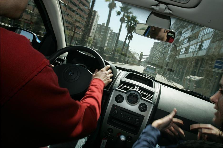 Nuevo examen de conducir práctico