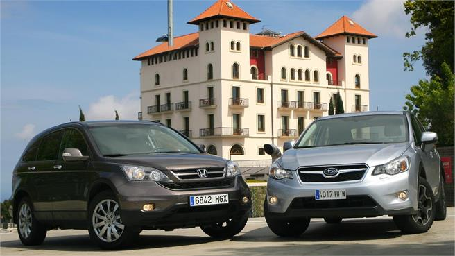 Honda CR-V 2.2 i-DTEC contra Subaru XV 2.0 Diesel