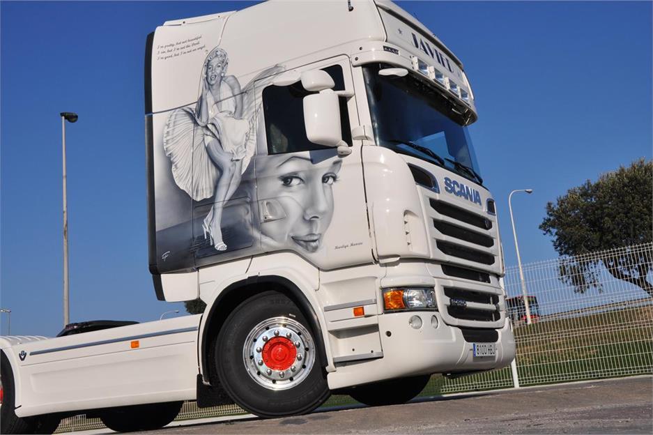 Un Scania con la mejor compañía