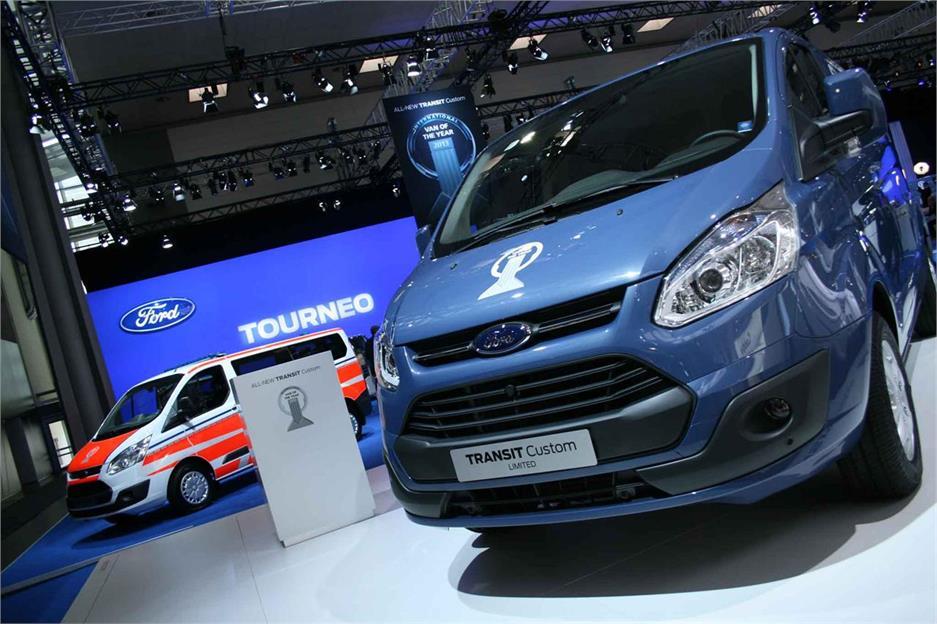 Vehículos Comerciales: Salón IAA 2012