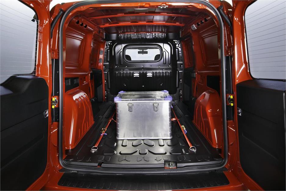 El modelo se basa en el Fiat Dobló