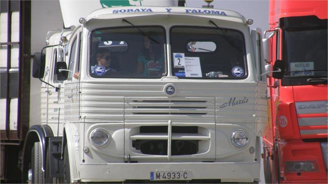 Los camiones clásicos salen de paseo