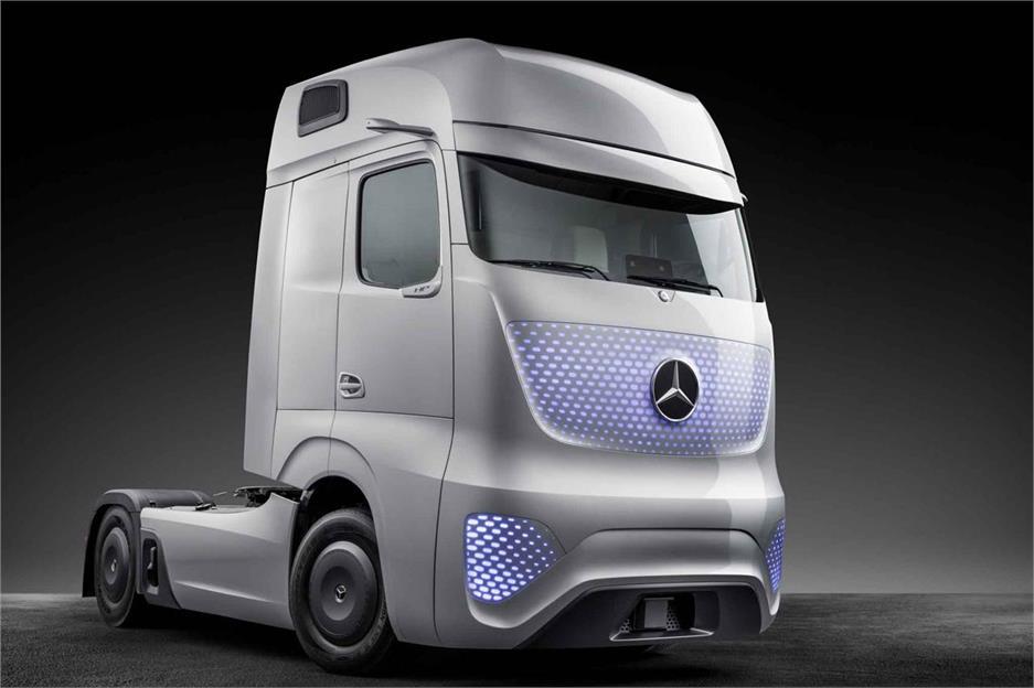 Future Truck 2025 de Mercedes-Benz