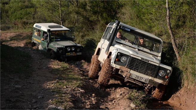 Land Rover Party en Les Comes