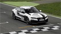 Un Audi RS7 sin conductor en Hockenheim