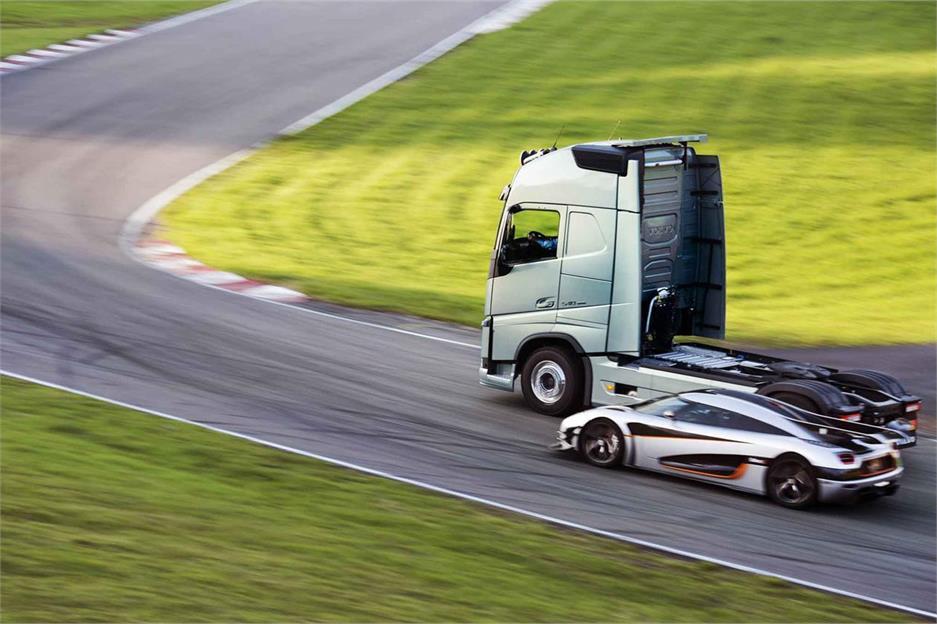 Volvo FH con doble embrague I-Shift