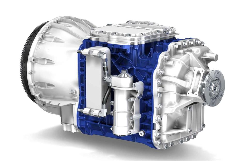 Volvo FH I-Shift Dual Clutch