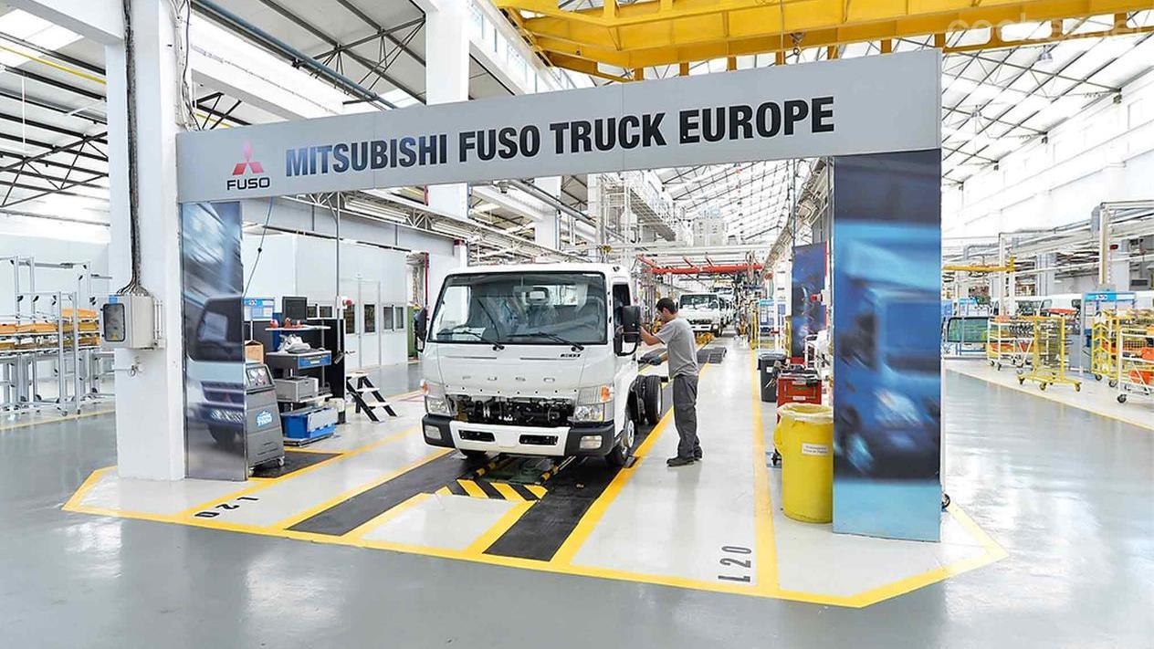 Mitsubishi Fuso Canter Euro 6