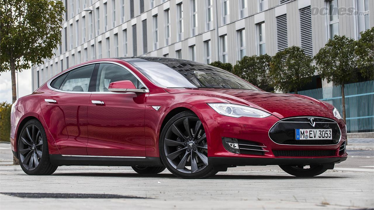 Tesla Model S Pruebas 2014 Noticias Coches Net
