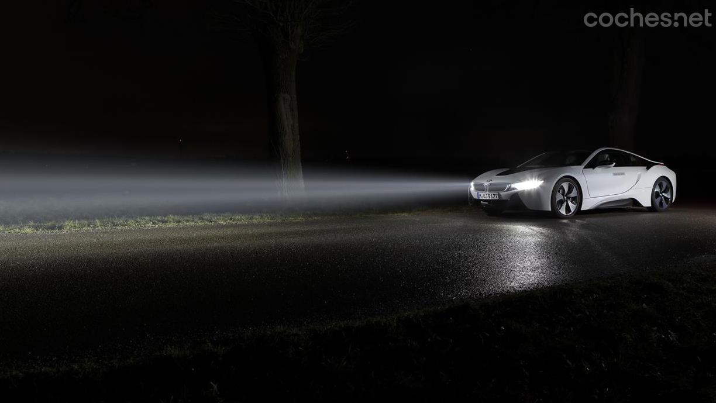 BMW i8: Tecnología láser
