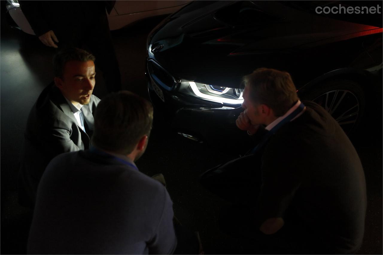 BMW i8: Tecnología láser - foto 7