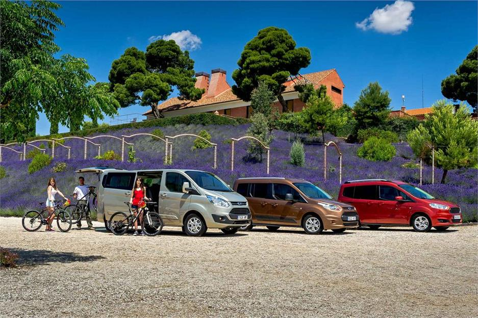 Gama Ford Tourneo