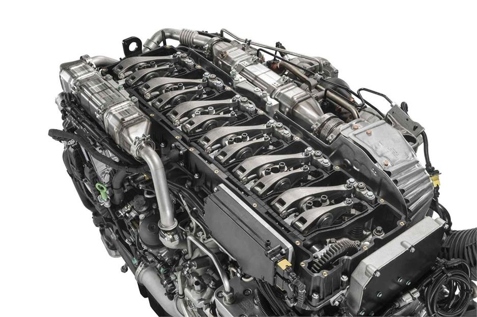 Nuevos motores D38 para los MAN