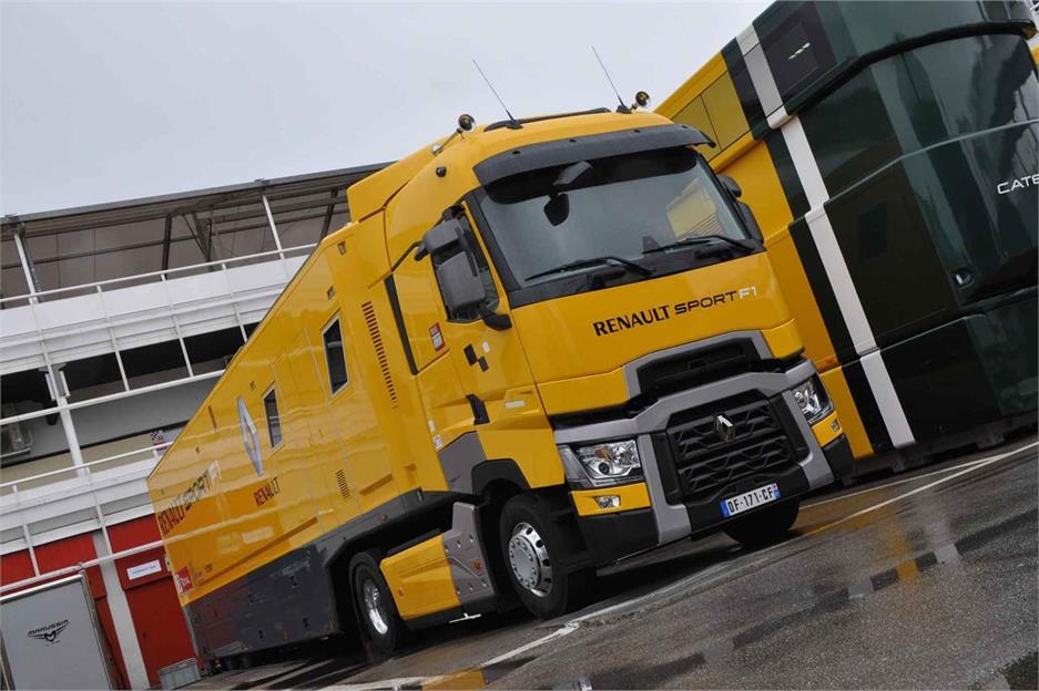 La importancia de los camiones en la F1