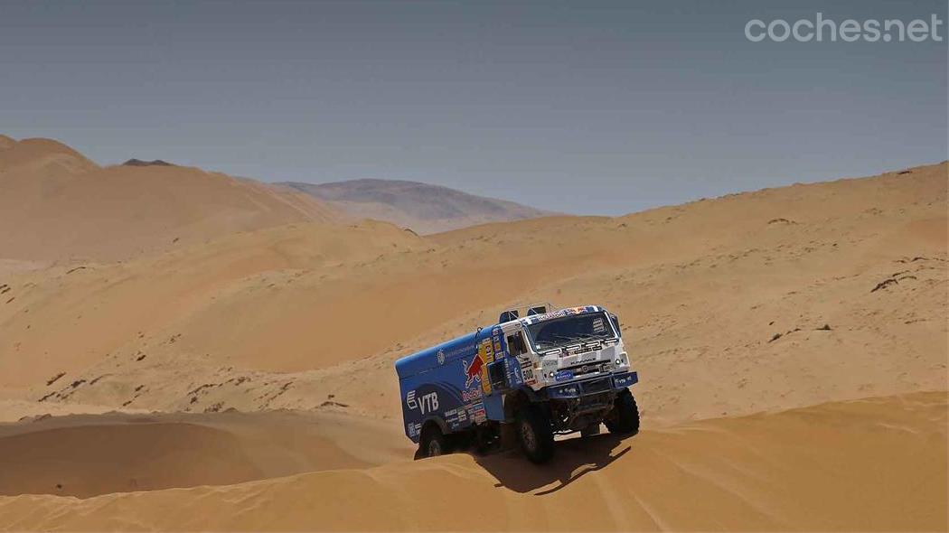 Dakar 2015, territorio Kamaz