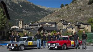 Rally Classic Andorra en un Seat 124 Sport