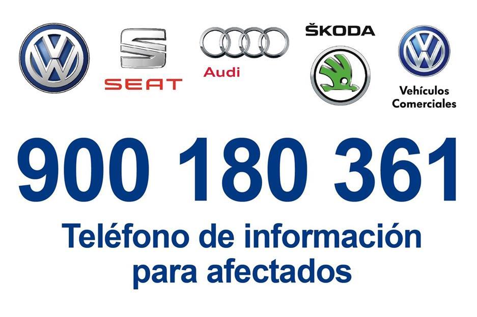 Número de información para clientes VW
