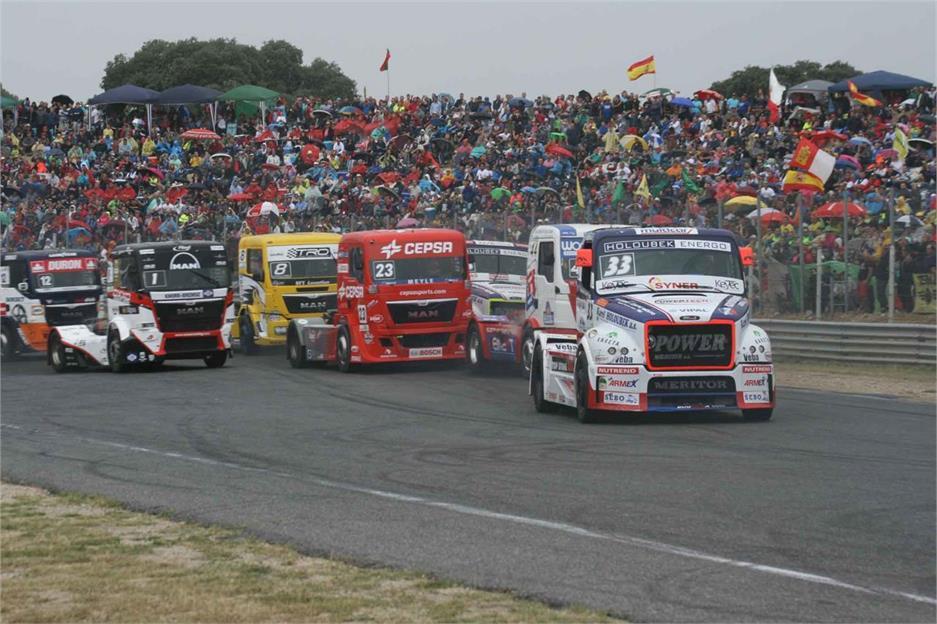 Europeo de Carreras de Camiones 2015