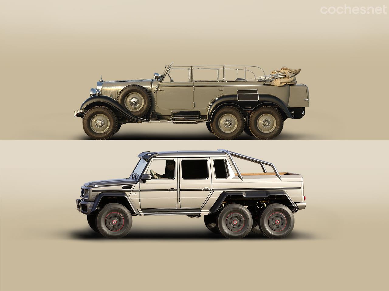 Fotos mercedes benz g 63 amg 6x6 vs g4 6x6 foto 1 for Mercedes benz 6x6 precio