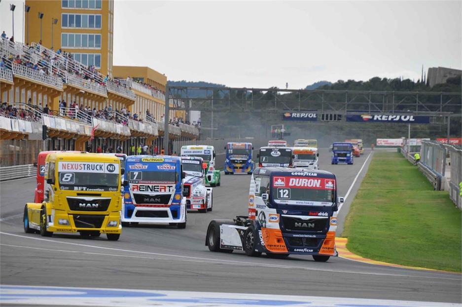 Carreras Camiones Circuito de Valencia 2