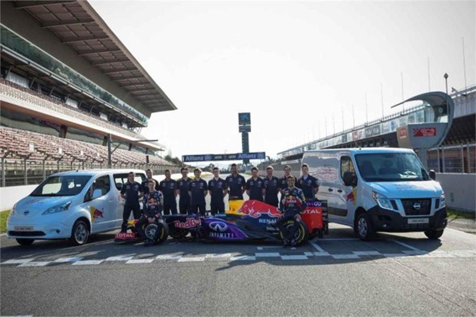 Nissan con el equipo Red Bull