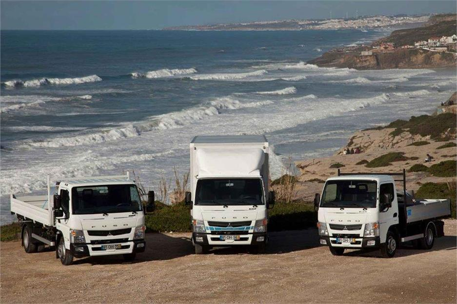 Mercedes Benz comercializa el Fuso Cante