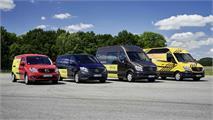 Furgonetas Mercedes-Benz a la vanguardia de la seguridad