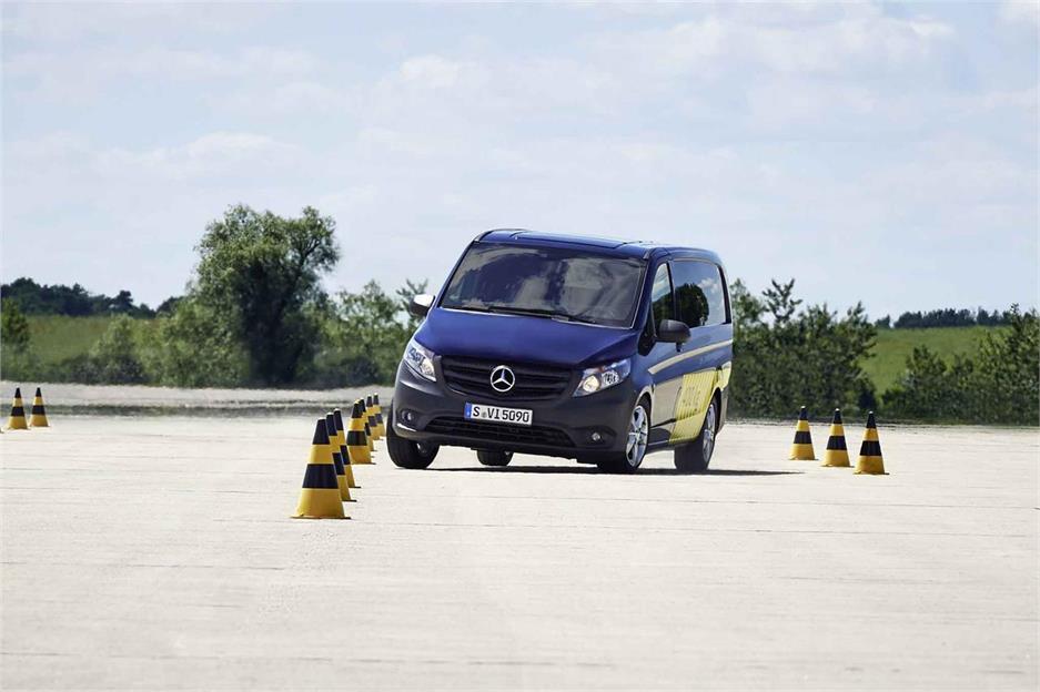 Furgonetas Mercedes-Benz a la vanguardia