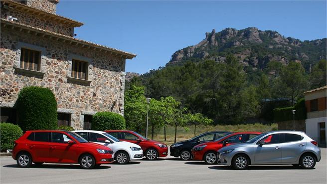 Compararativo coches urbanos 90 CV gasolina