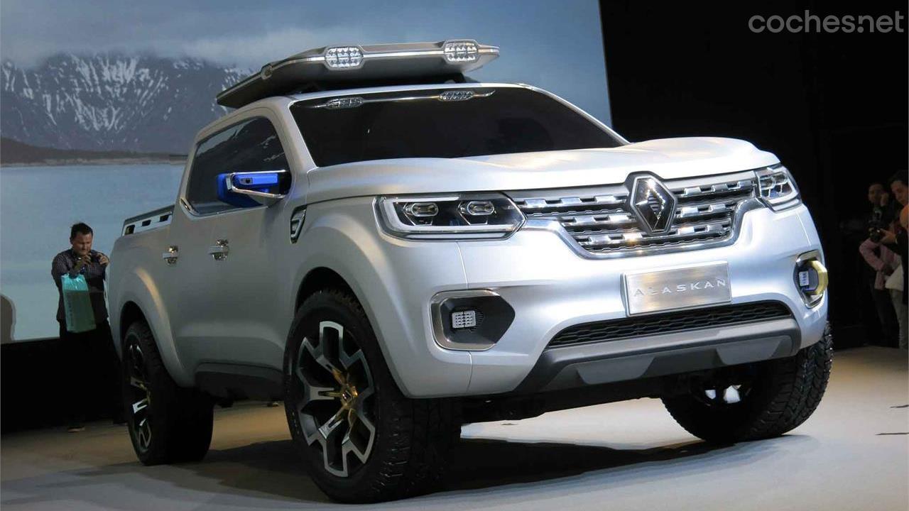 Renault irrumpe con un nuevo pick up