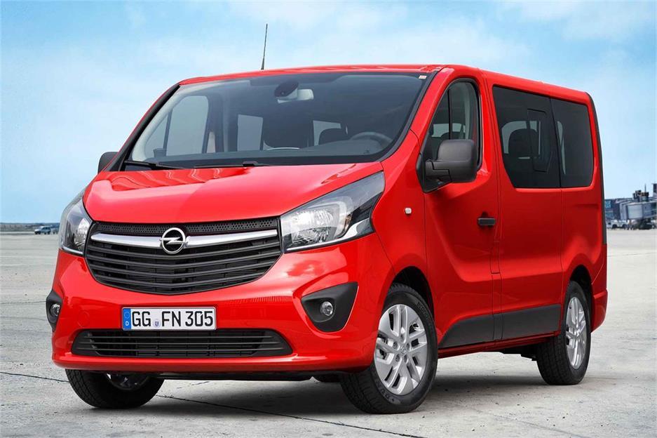 Gama Opel 2016 de comerciales ligeros