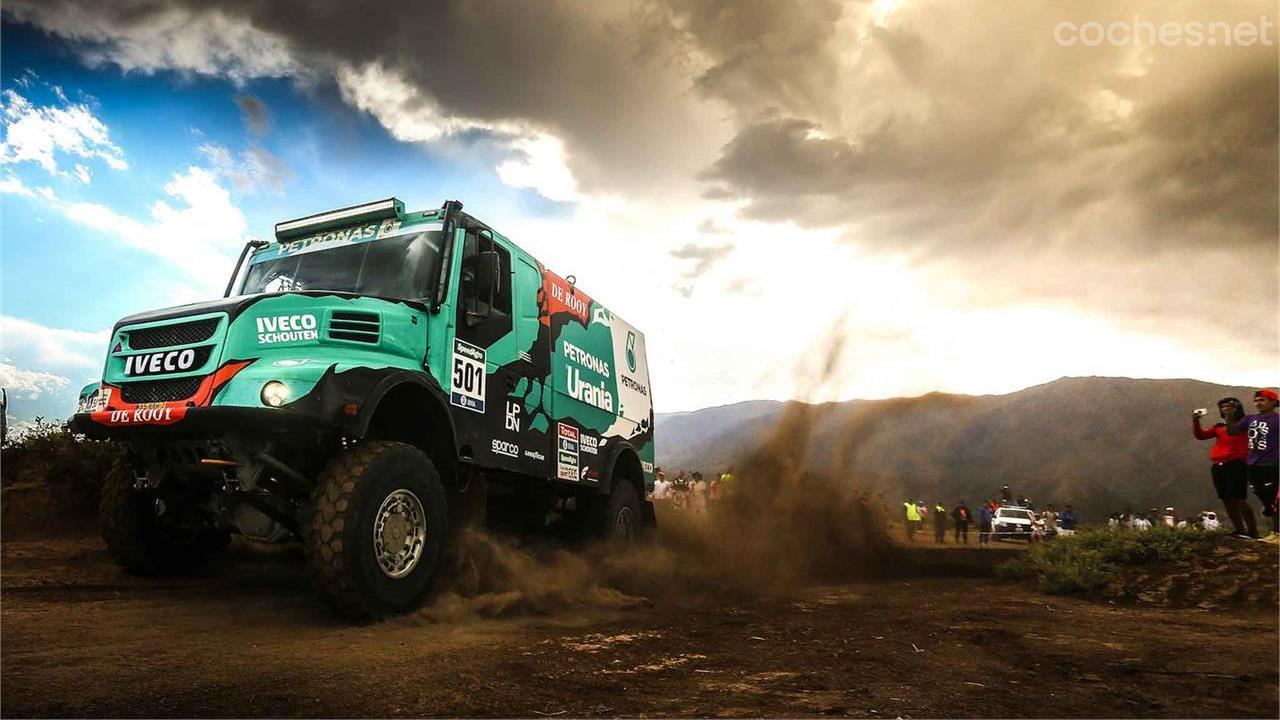 Segunda victoria en el Dakar para Iveco