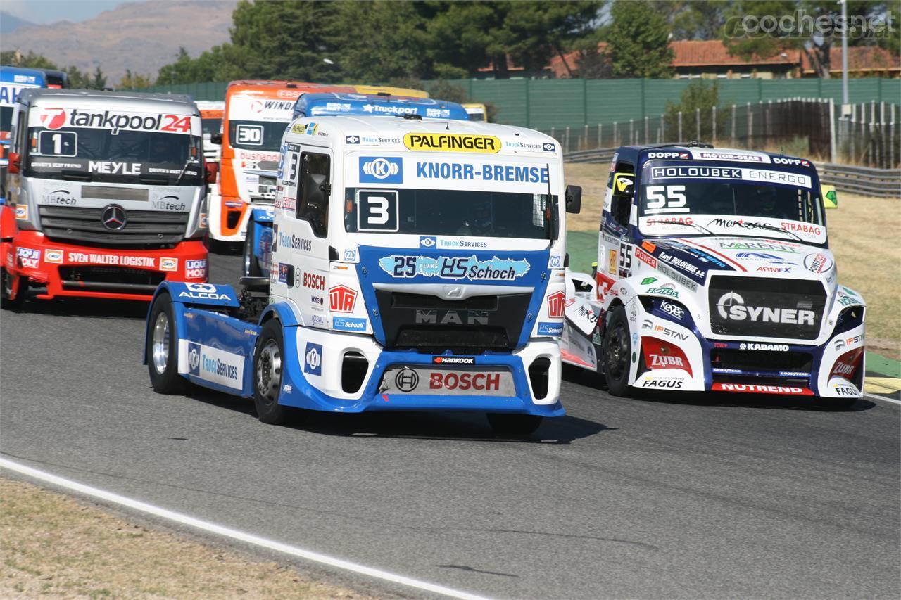 Hahn cambia su montura en el europeo de camiones - foto 1