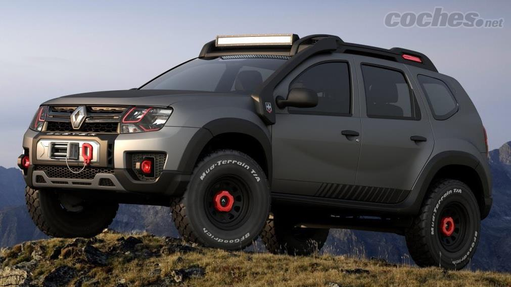 renault duster 4x4 extreme concept noticias. Black Bedroom Furniture Sets. Home Design Ideas