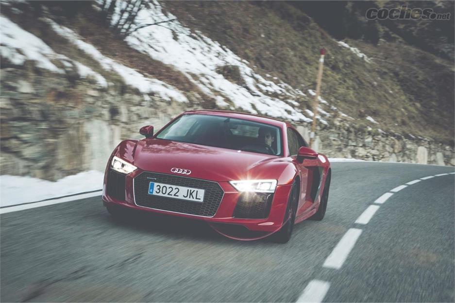 Audi Laser Light, lo probamos de noche