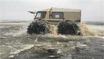 SHERP ATV: Navegando sobre 4 ruedas