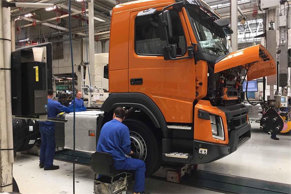 Suecos de origen belga: Volvo Trucks