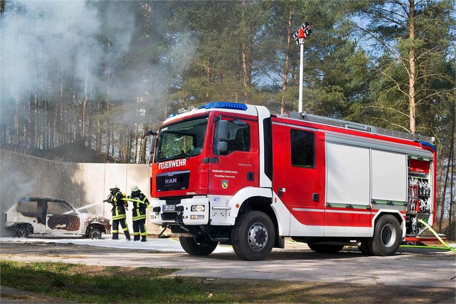 MAN TGM 15.290 4X4 extinción incendios