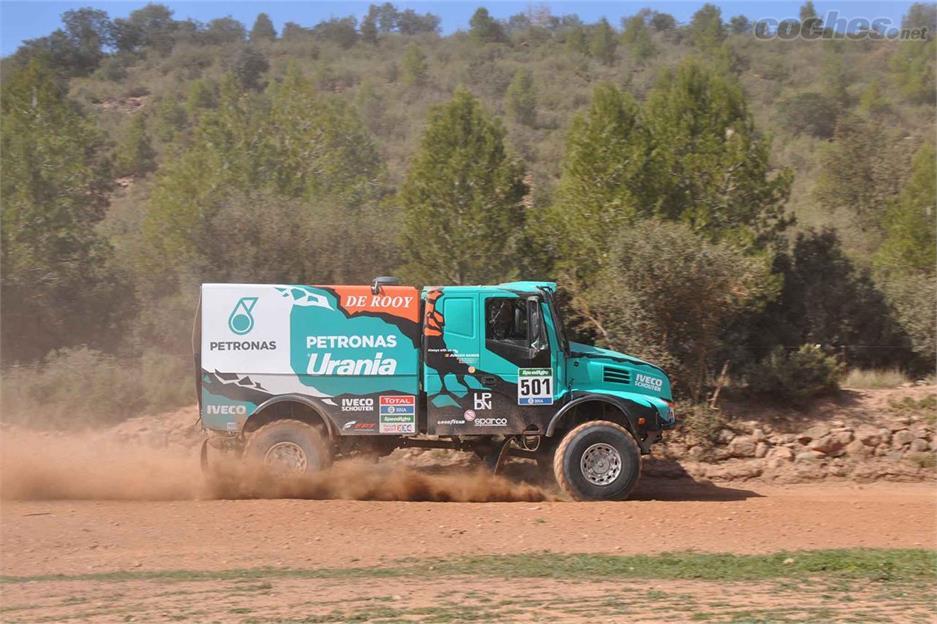 Los ganadores del Dakar en Les Comes