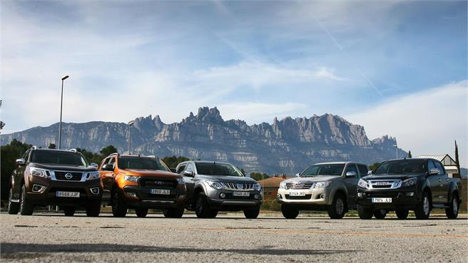 Comparativo Pick-up Doble Cabina