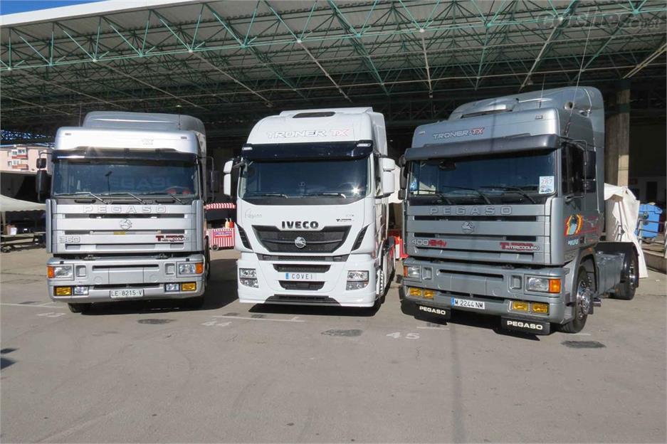 El VII Torrelavega Truck Show de Torrela