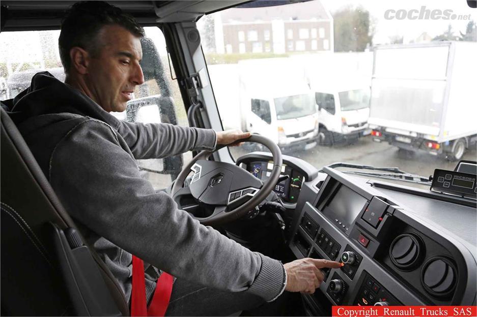 Renault Trucks eleva al confort