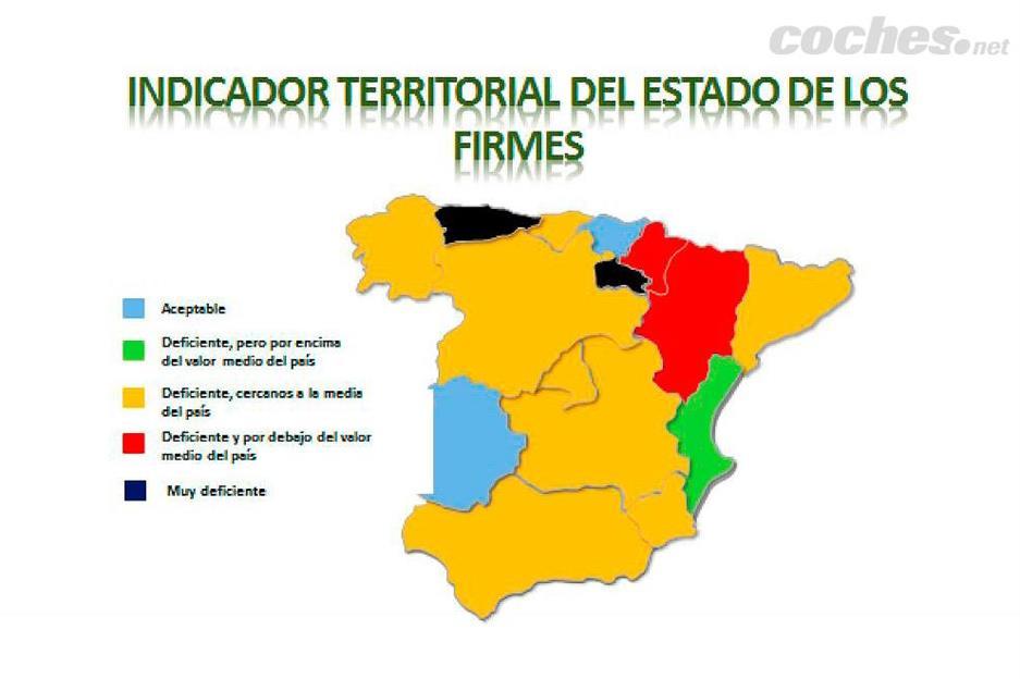 Suspenso para las carreteras españolas