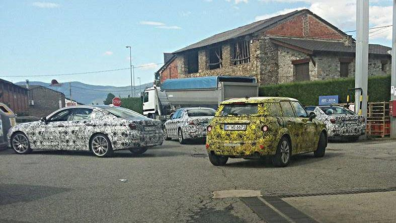 Mini Countryman y BMW Serie 5