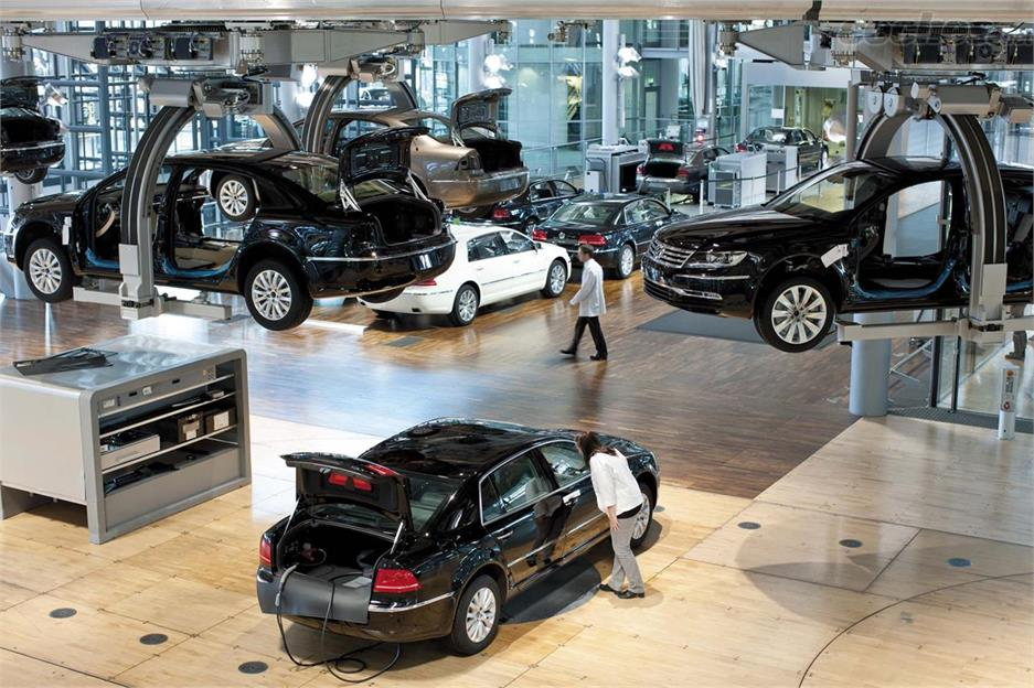 La Fábrica de Cristal de Volkswagen